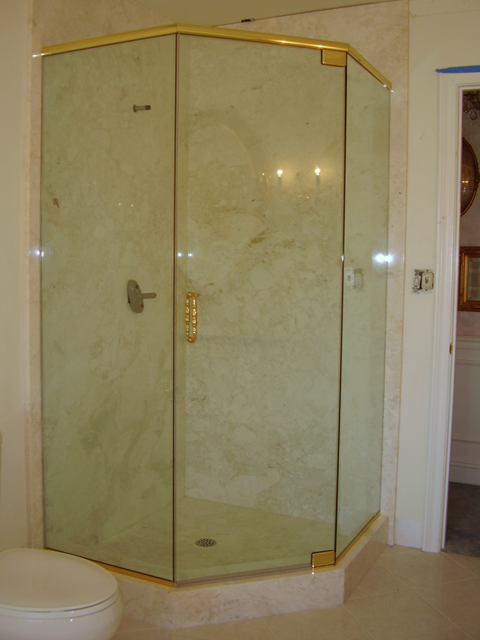 Arizona Frameless Shower Doors By Clayton Glass